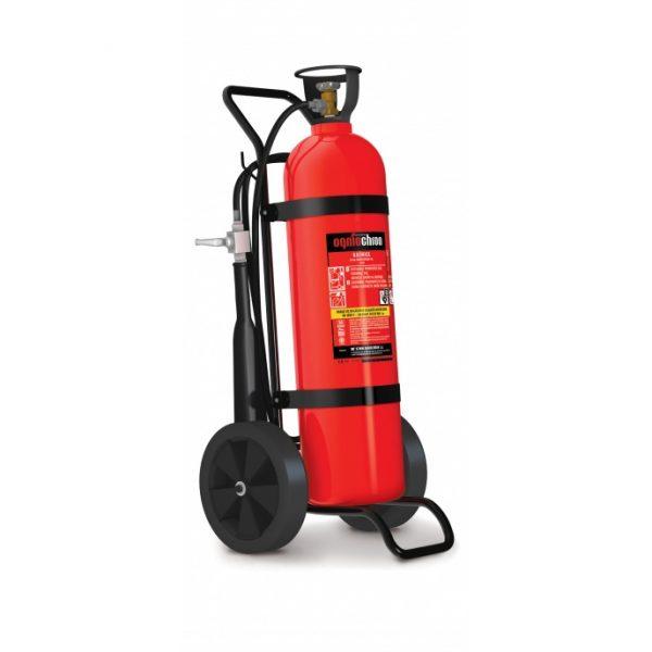 Gaśnica przewoźna CO2 - 20kg AS-20 B/E 245kV