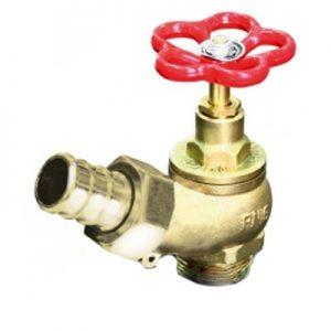Zawór hydrantowy fi 25 mosiężny