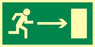 Z.AA Kierunek do wyjścia w prawo 15×30 002 CE PS