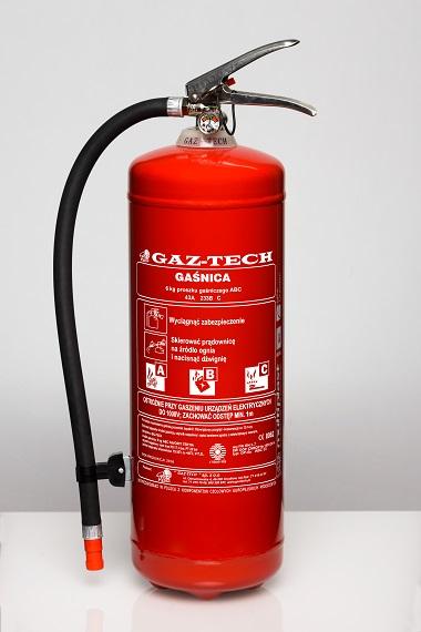 Gaśnica proszkowa GP-12 X ABC ES do 245 kV